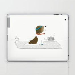 """""""Upward Dog"""" Laptop & iPad Skin"""