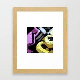 Handful Framed Art Print
