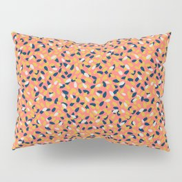 Sun-kissed Flowers in the Coral Gardens Pillow Sham