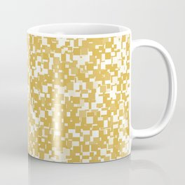 Spicy Mustard Pixels Coffee Mug