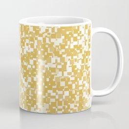 Spicy Mustard Pixels Coffee Mug