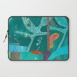 Turquoise Repeat Laptop Sleeve
