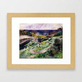 Road at Wargemont Framed Art Print