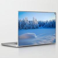 swedish Laptop & iPad Skins featuring Swedish Winter by Mark W