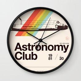 Astronomy Club Wall Clock