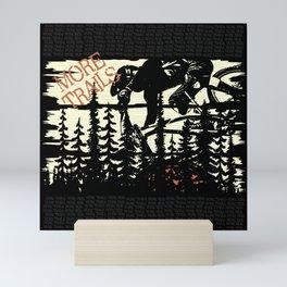 More Trails Mini Art Print
