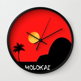 Molokai Wall Clock
