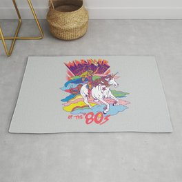 Warrior of the '80s Rug