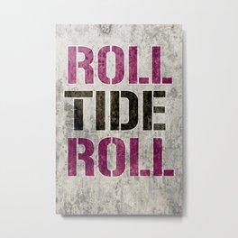 Alabama Tide Metal Print