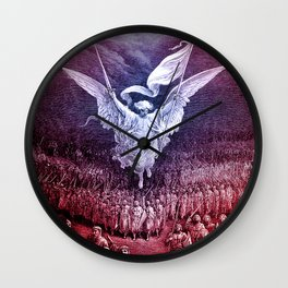 Archangel Michael Wall Clock
