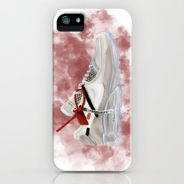OFF WHITE MAX iPhone Case