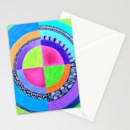 Meditation Mandala Stationery Cards