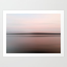 Canandaigua Lake Late Afternoon West Art Print