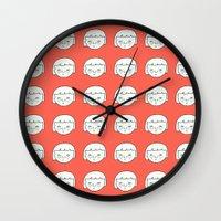sisters Wall Clocks featuring Sisters by bakuta