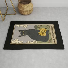 Ace of Pentacles Rug