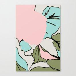 Back Soon (Olive Drab) Canvas Print