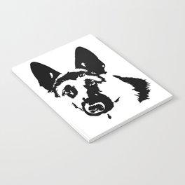 German Shepherd Dog Gifts Notebook