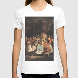 Theodoros Vryzakis - The Oath-taking in the Church of Aghia Lavra T-shirt