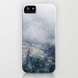 Among the Swiss Clouds iPhone Case