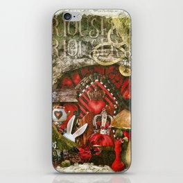 Queen of the Hearts iPhone Skin