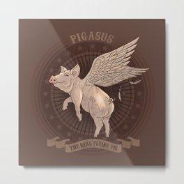 Pigasus Metal Print