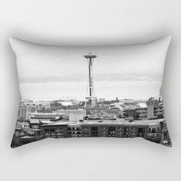 Dear Space Needle, I miss you. Rectangular Pillow