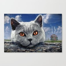 Diesel at the wall ! Canvas Print
