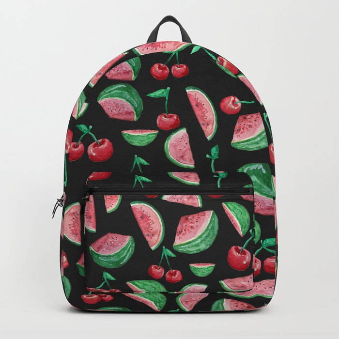 cherry and watermelon Backpack
