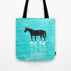 Unicorn On Ice Tote Bag