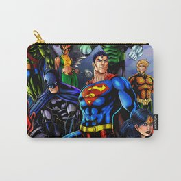 heroes all Carry-All Pouch