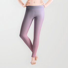 TRANSIENT FEELING - Minimal Plain Soft Mood Color Blend Prints Leggings