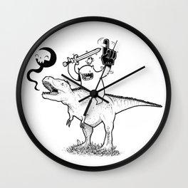 Dino&Dude Wall Clock