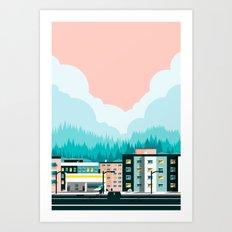 A View of 12th Avenue Art Print