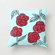 Poppyish Throw Pillow