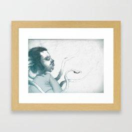 THE SENSE. Framed Art Print