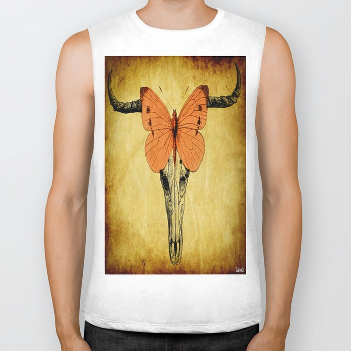 The mystic butterfly Biker Tank
