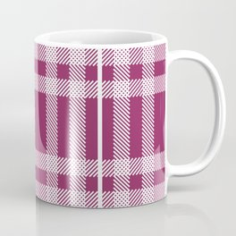 Berry Plaid Coffee Mug