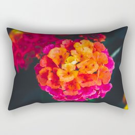 Color Pop Flower Rectangular Pillow