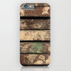 Splatter Paint Wood iPhone 6s Slim Case