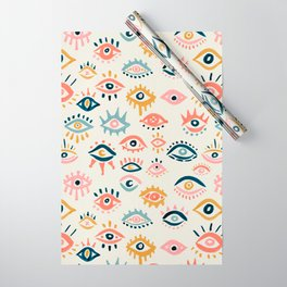 Mystic Eyes – Primary Palette Wrapping Paper