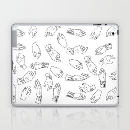 Hand Print II Laptop & iPad Skin