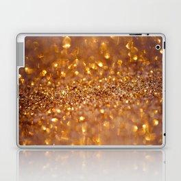Golden glitter #society6 Laptop & iPad Skin