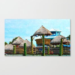 Conch House Marina in St. Augustine, Florida Canvas Print