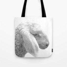 Black and White Sheep Tote Bag