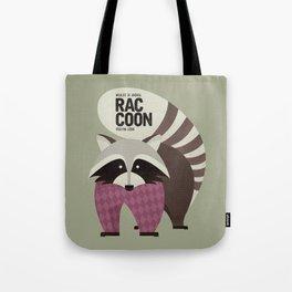 Hello Raccoon Tote Bag