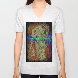 BOUQUET Unisex V-Neck