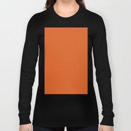 Vivid red-tangelo Long Sleeve T-shirt