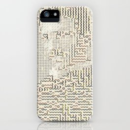 Digital expressionism 017 iPhone Case