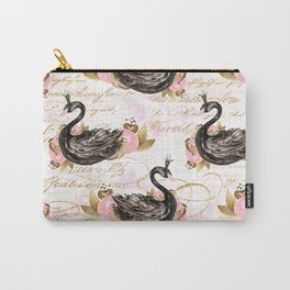 Black Swans ballerina #2 Carry-All Pouch