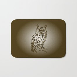 Great Owl Bath Mat